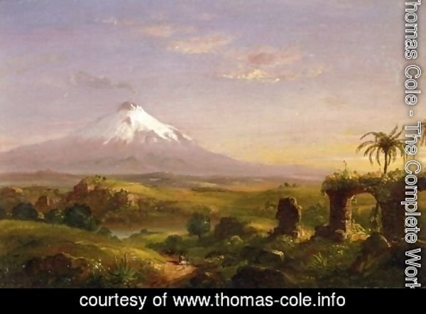 Thomas Cole - View of Mount Etna