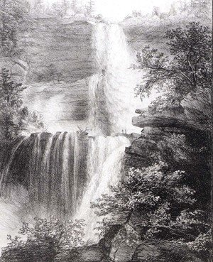 Thomas Cole - Falls at Catskill