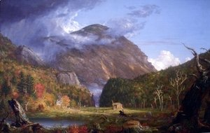 Thomas Cole - A View of the Mountain Pass Called the Notch of the White Mountains (Crawford Notch)