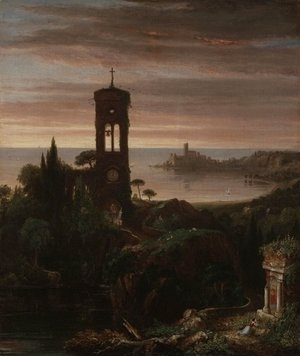 Thomas Cole - The Vesper Hymn