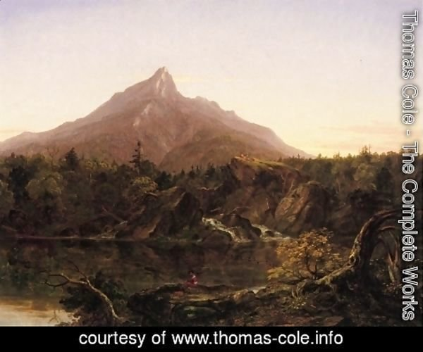 Thomas Cole - Corway Peak, New Hamshire