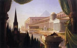 Thomas Cole - The Architect's Dream 1840