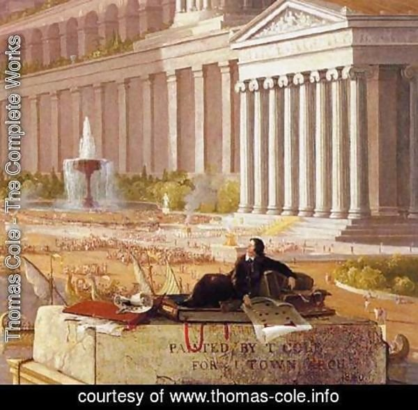 Thomas Cole - The Architect's Dream (detail)