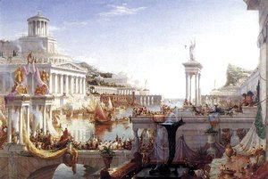 Thomas Cole - The Consummation of the Empire 1836