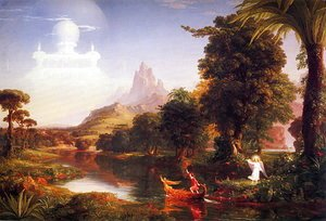 Thomas Cole - Voyage of Life. Youth